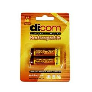 Аккумулятор Dicom AA2300 2шт