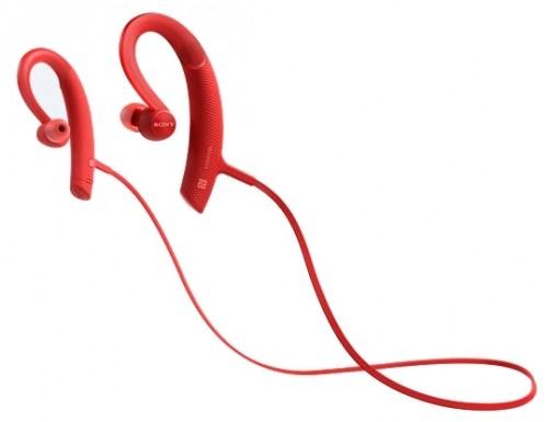 Наушники Sony MDR-XB80 BS/R красный