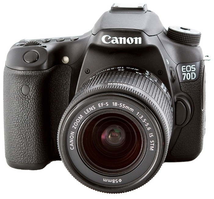 Цифровой фотоаппарат Canon EOS 70D Kit 18-55 is stm