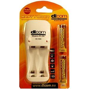 Зарядное устройство Dicom Ultime DC250 + 2ak. 2700