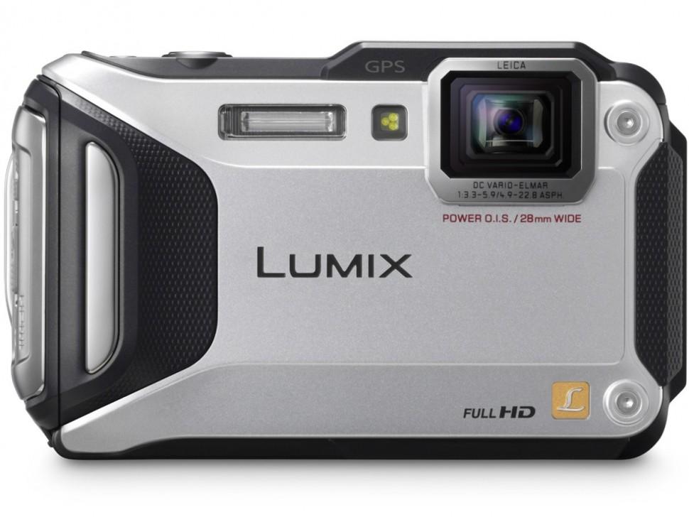 Фотоаппарат Panasonic DMC-FT5 Lumix Silver