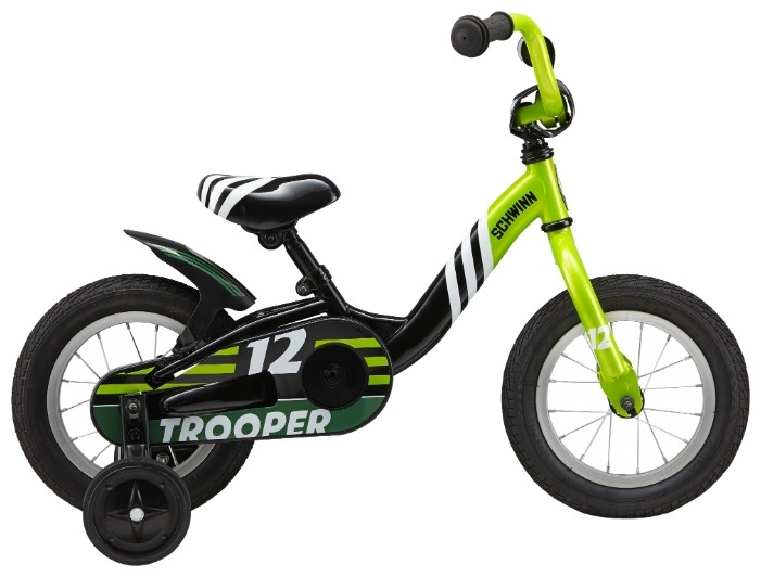 Велосипед Schwinn Trooper (2016) Black/Lime