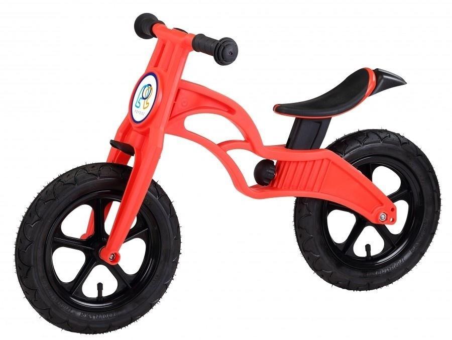 Беговел Pop Bike Flash Red с надувными колесами