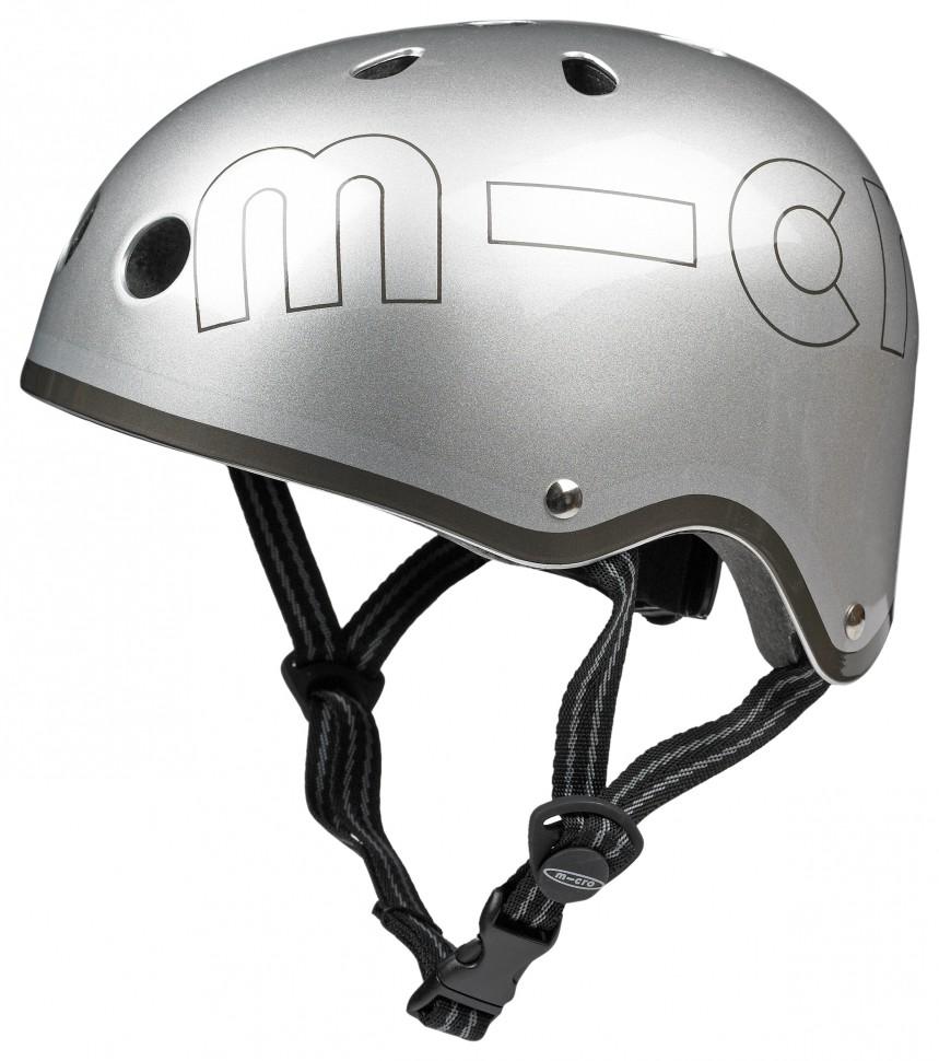 Защитный шлем Micro металлик S