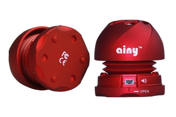 Акустическая мини система Ainy DJ Baby IG-12 Pink
