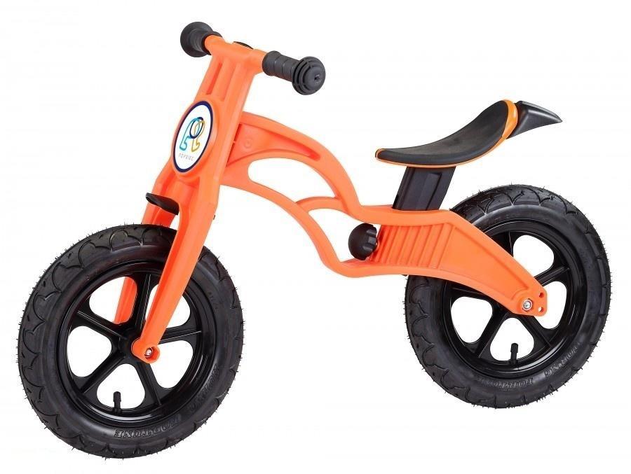 Беговел Pop Bike Flash Orange с надувными колесами