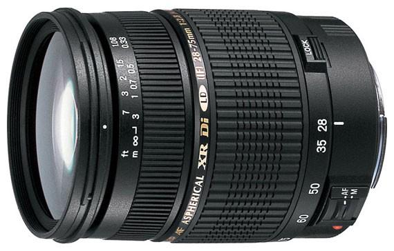 Объектив Tamron AF 28-75mm f/2.8 XR DI LD Nikon
