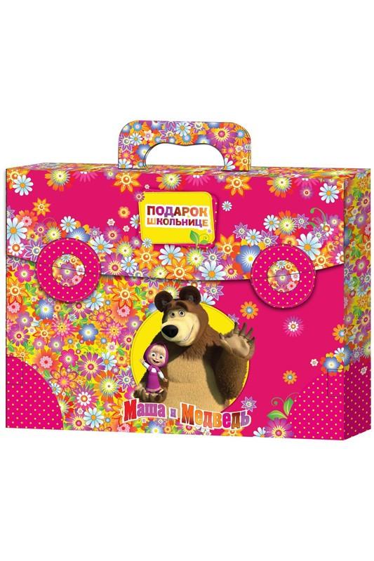 Игрушка Подарок Школьнице Маша и медведь