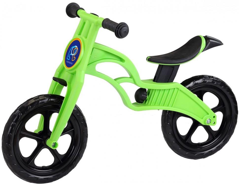 Беговел Pop Bike Sprint Green c бескамерными колесами