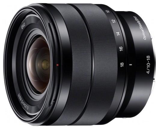 Объектив Sony SEL 10-18mm F/4 для nex