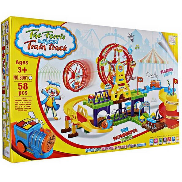 Игра The Ferris wheel train track