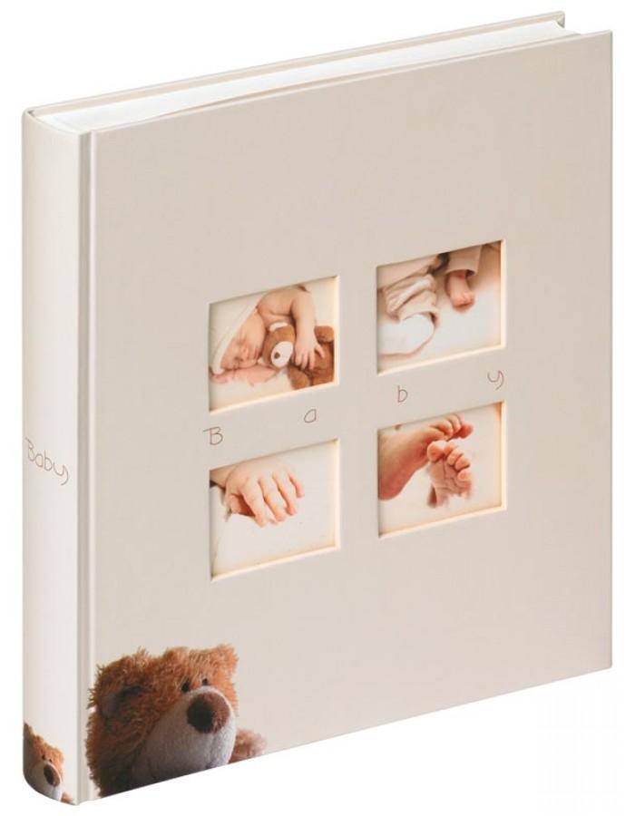 Фотоальбом Walther UK-273 28x30.5/60 бел.стр.,4ил.стр. Classic Bear