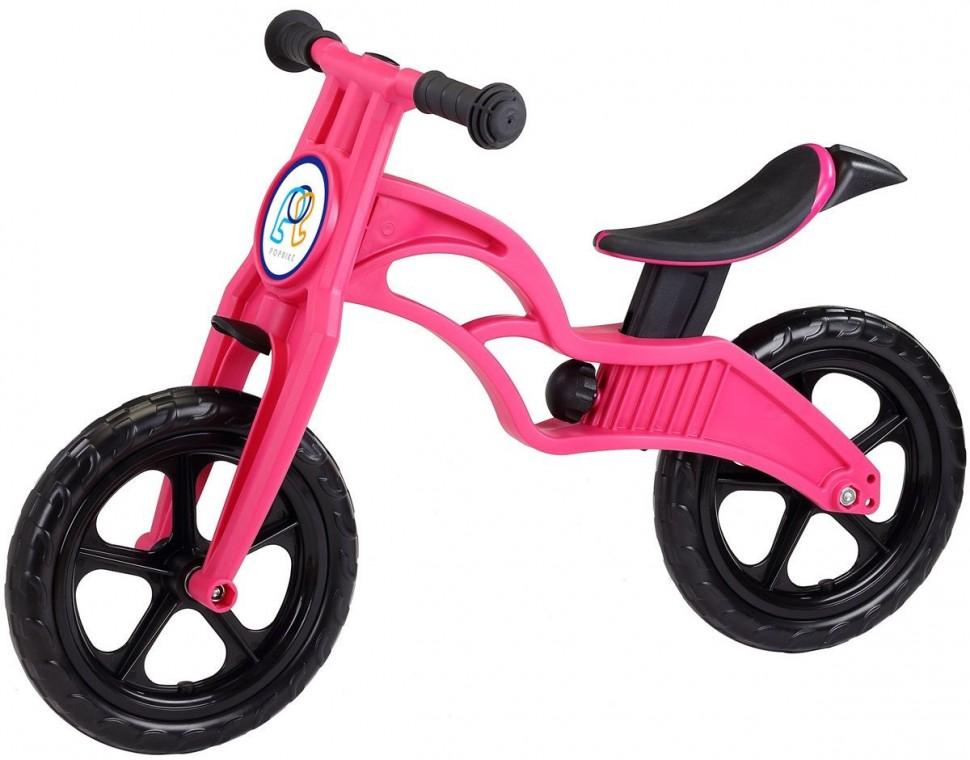 Беговел Pop Bike Sprint Magenta с бескамерными колесами