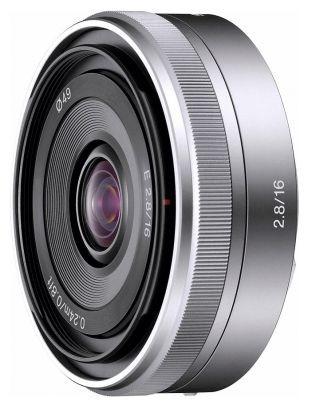Объектив Sony SEL 16mm f/2.8