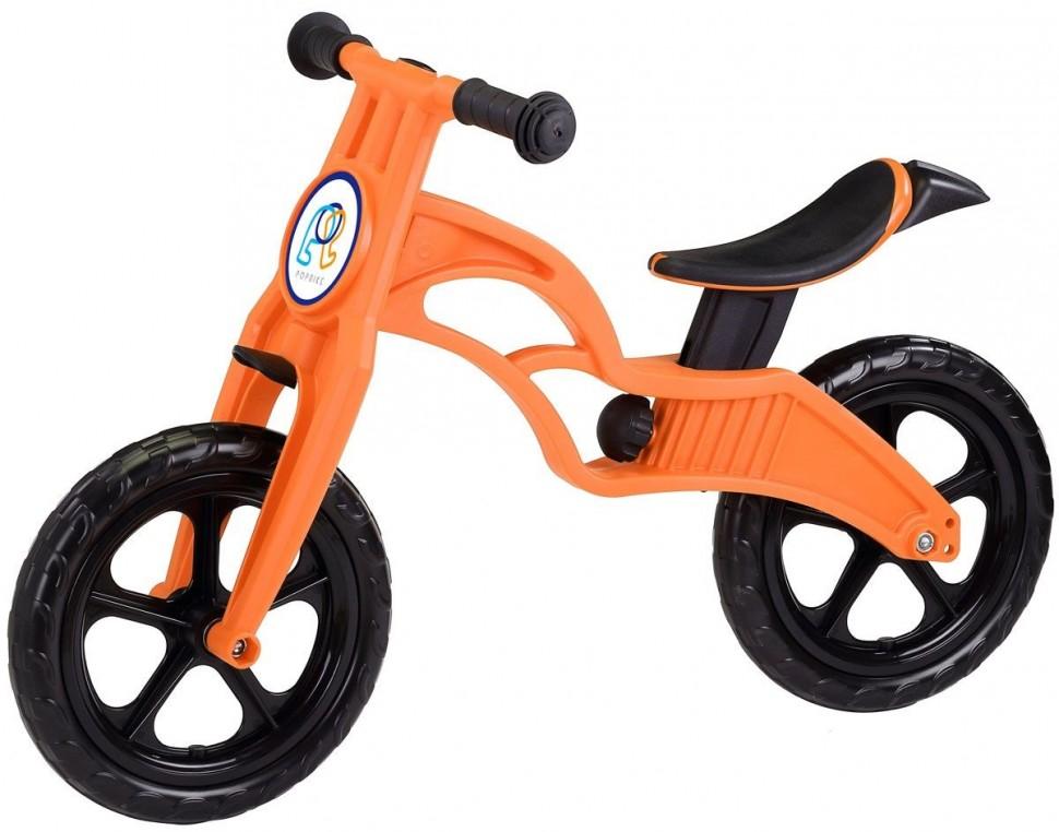 Беговел Pop Bike Sprint Orange с бескамерными колесами