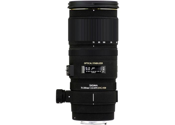 Sigma AF 70-200mm f/2.8 APO EX DG OS HSM  Canon EF