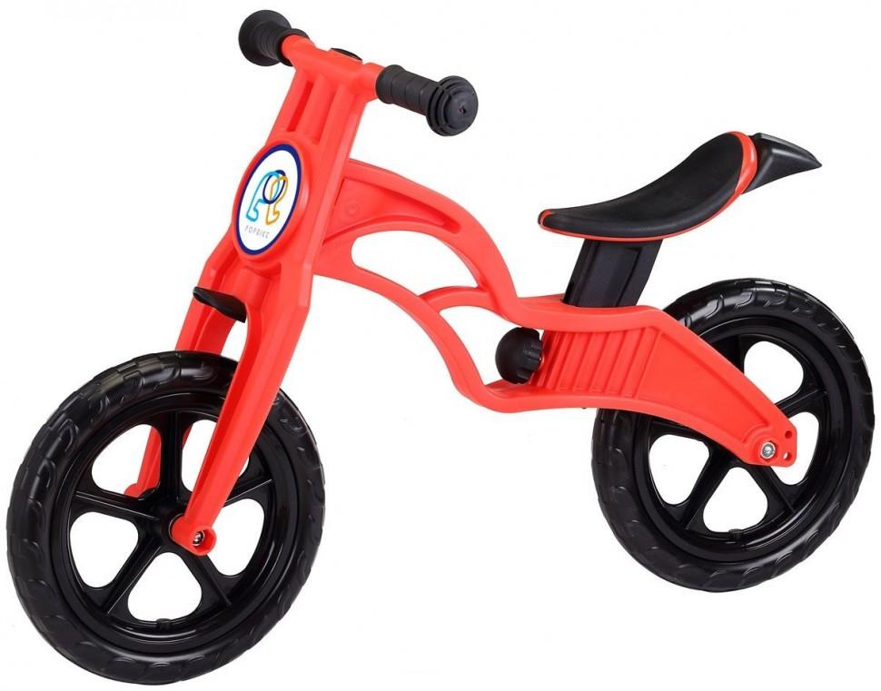 Беговел Pop Bike Sprint Red с бескамерными колесами