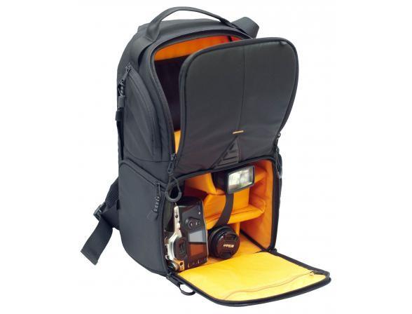 Фоторюкзак Dicom Utah 30 (чёрно-оранжевый)
