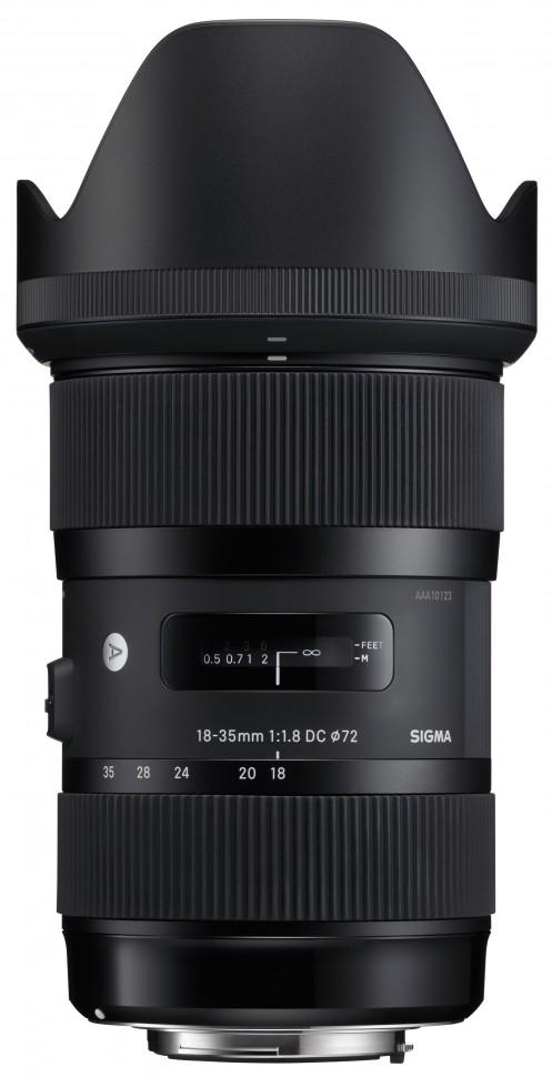 Sigma AF 18-35mm f/1.8 DC HSM Art Canon EF-S