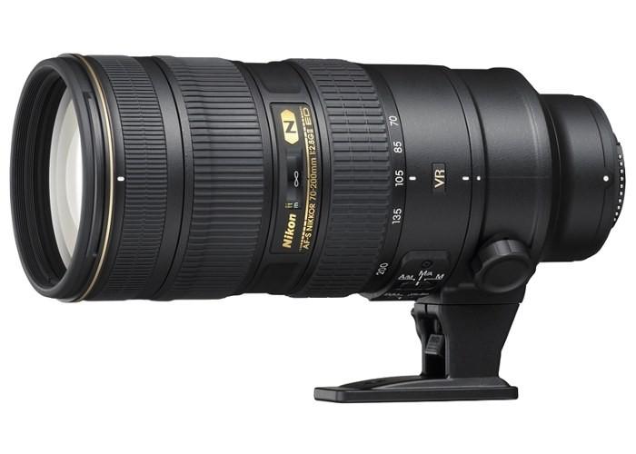 Объектив Nikon 70-200mm f/2.8G AF-S ED VR II