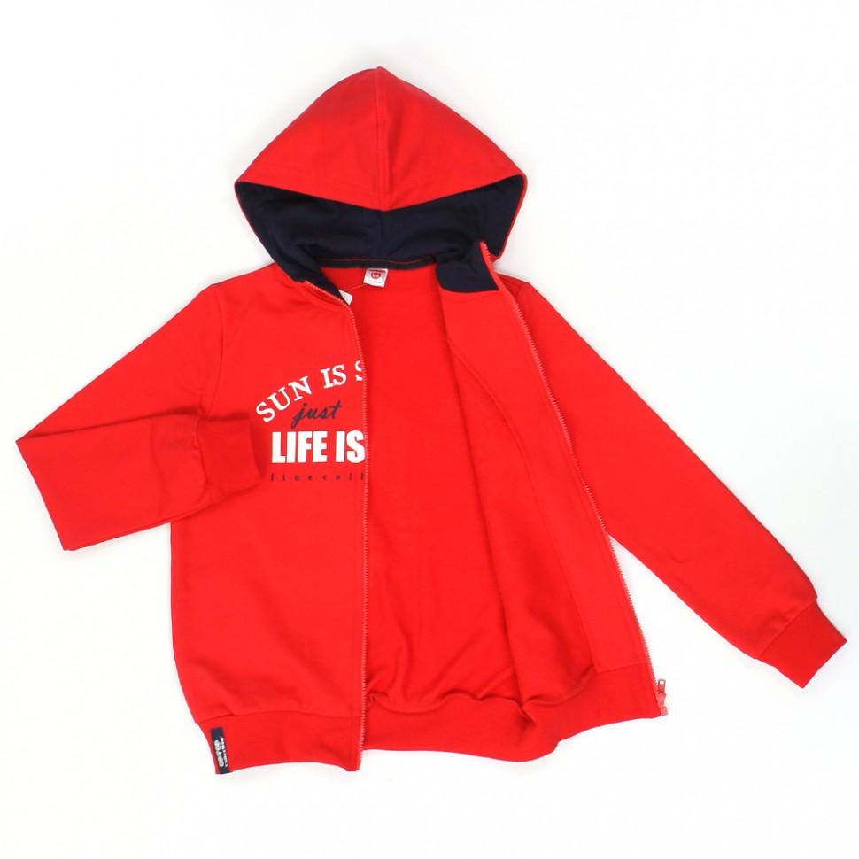 Куртка 300042 кармин