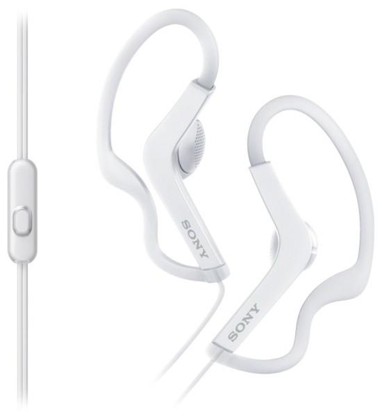 Наушники Sony MDR-AS210AP/W белый