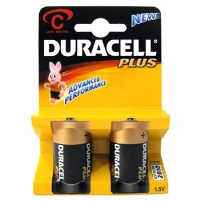 Батарейки Duracell LR14 2BL (20) (60)