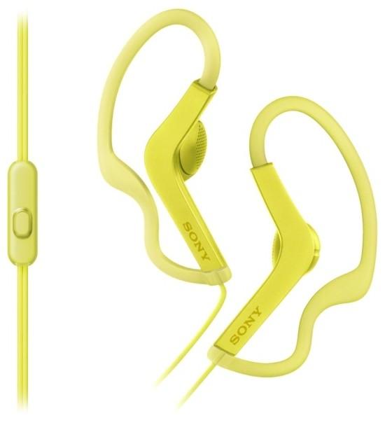 Наушники Sony MDR-AS210AP/Y желтый