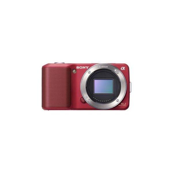 Фотокамера Sony Alpha NEX-3 Body red