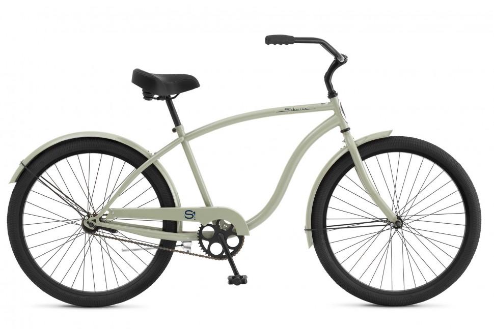 Велосипед круизер Schwinn S1 (2018) Серый