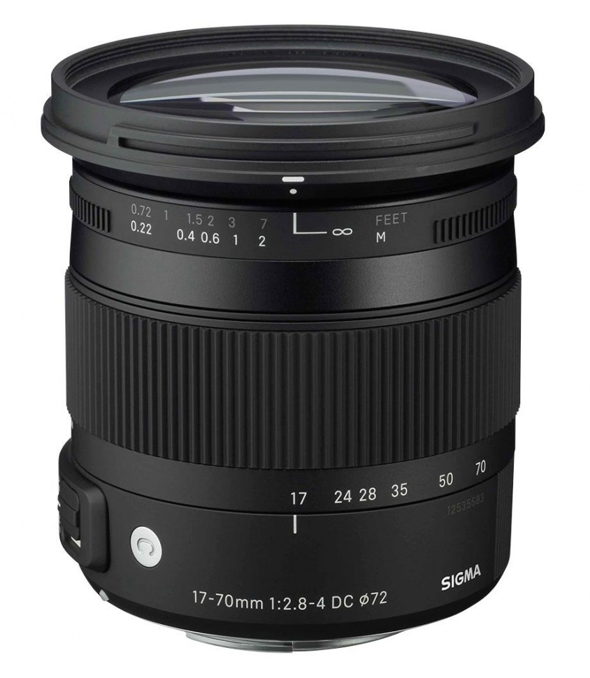 Sigma AF 17-70mm f/2.8-4.0 DC Macro OS HSM new Contemporary Nikon F