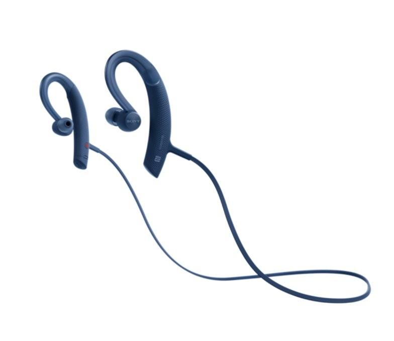 Наушники Sony MDR-AS410AP/L синий