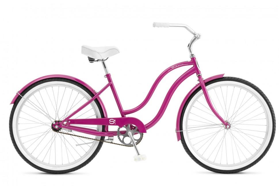 Велосипед круизер  Schwinn S1 Women 2018 Pink