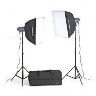 Импульсный свет комплект Visico VL Plus 400 Soft Box KIt