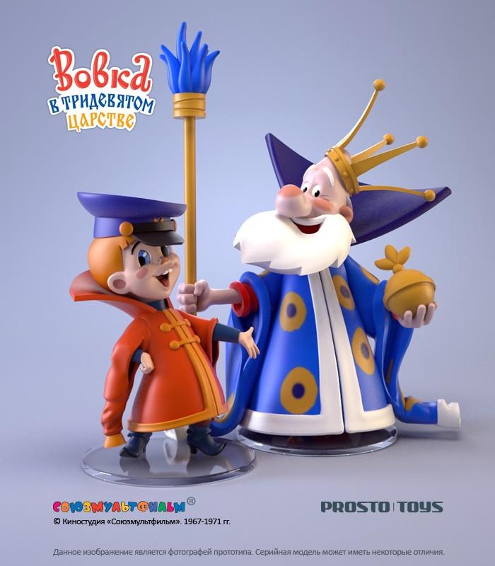 Набор фигурок Вовка и царь Prosto toys