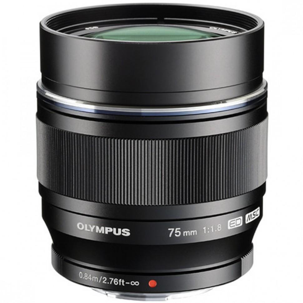 Объектив Olympus ED 75mm f/1.8 Black