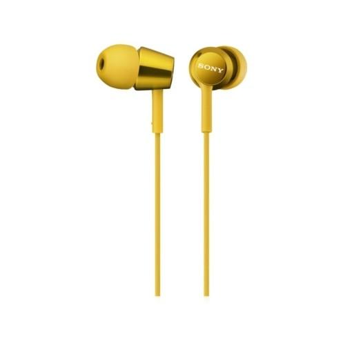 Наушники Sony MDR-EX150/Y yellow