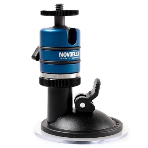 Шаровая штативная головка Novoflex SP STATIV Suction cup + Ball 19
