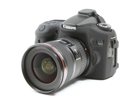 Силиконовый чехол под Canon EOS 70D (черный)