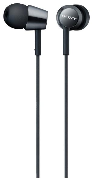 Наушники Sony MDR-EX150AP/B черный