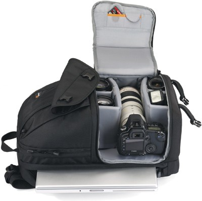 Фоторюкзак Lowepro Fastpack 100 red