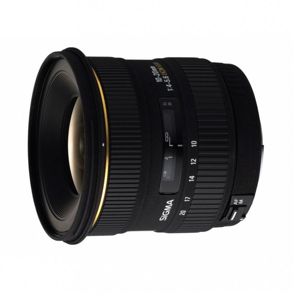 Объектив Sigma AF 10-20mm f/4-5.6 EX DC HSM для Canon
