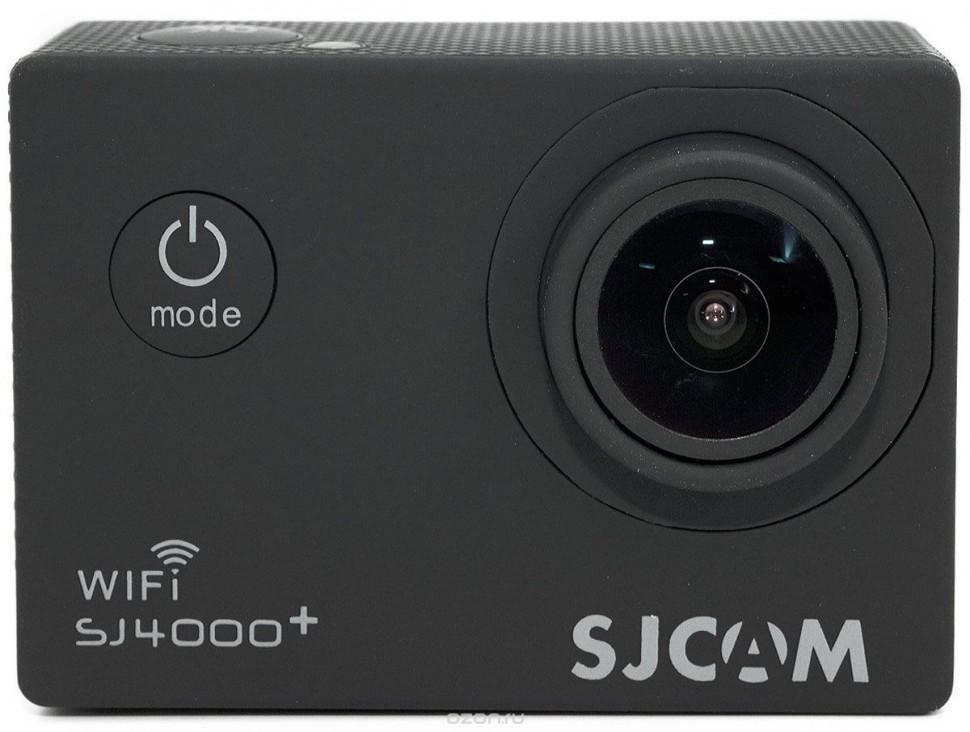 Экшн камера Sjcam SJ4000 Plus, черная