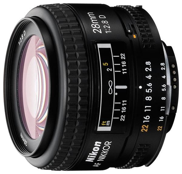 Объектив Nikon AF 28mm f/2.8D Nikkor