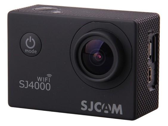 Экшн камера Sjcam SJ4000 Wi-Fi черная