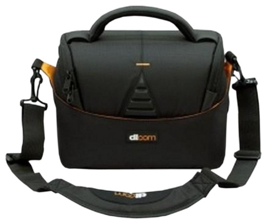 Фотосумка Dicom Utah 25 (чёрно-оранжевый)