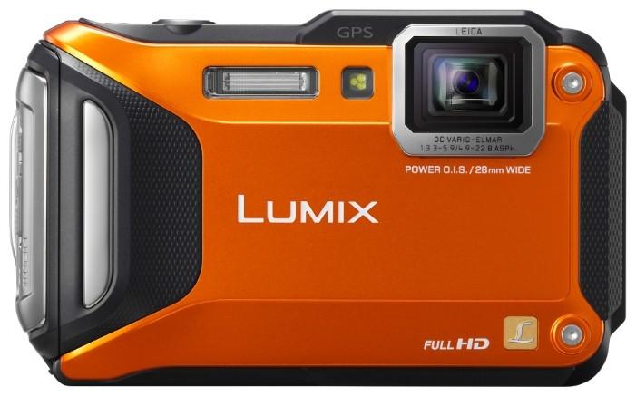 Фотоаппарат Panasonic DMC-FT5 Lumix Orange