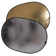 Отражатель 2 в 1 FST RD-021GS 90х120 золото/серебро