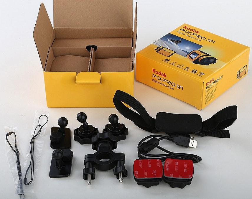 Набор креплений для камеры Kodak SP1