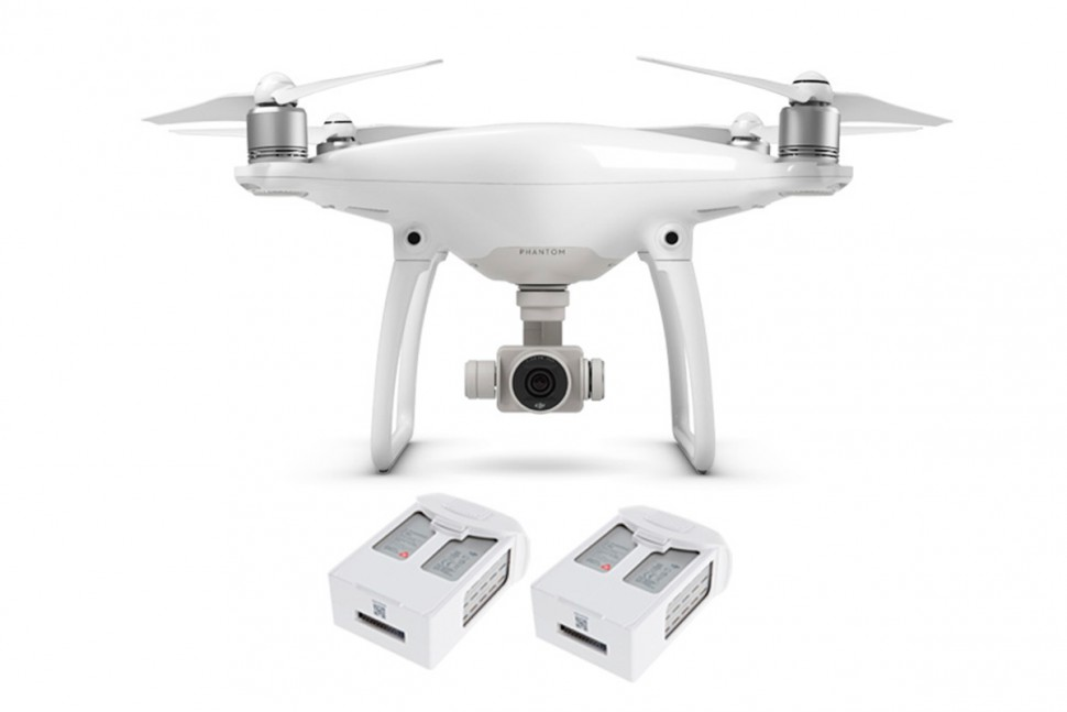 Квадрокоптер Dji Phantom 4 + One Extra Battery